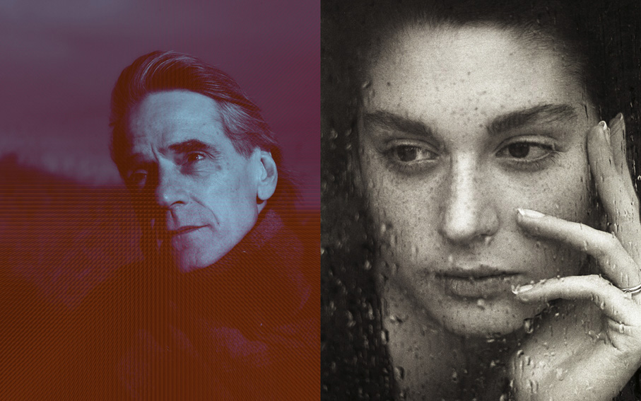Jeremy Irons and Sophie